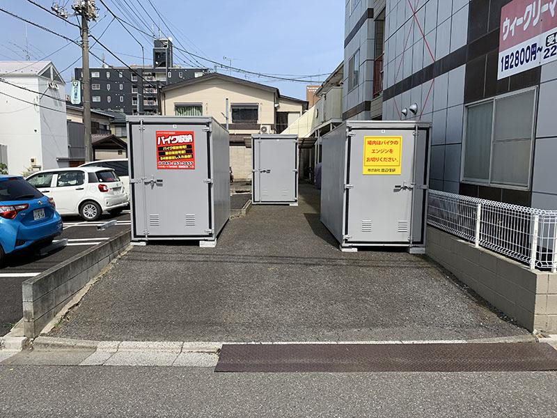 バイクガレージ西小仙波店